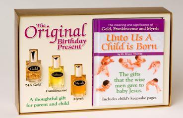 original birthday present - Gold Frankincense And Myrrh Christmas Gifts